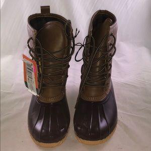 Sporto 8 M Ariel Lace up Duck Rain Boots